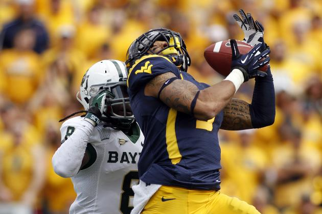Stedman Bailey: West Virginia WR Has Performance of a Lifetime in 70-63 Shootout