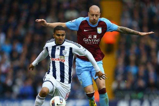 Aston Villa 1, West Brom 1: As It Happened