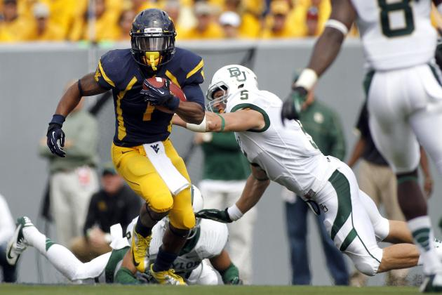 Tavon Austin: Mountaineers WR's Career Day Helps Fuel Geno Smith's Heisman Odds