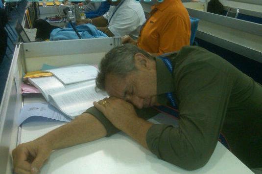 Rick Reilly Sleeps on the Job