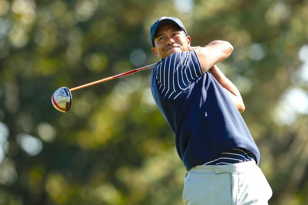 Tiger Woods at 2012 Ryder Cup Tracker: Day 2 Highlights, Updates and More
