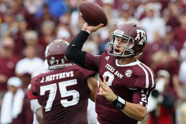 Texas A&M: Johnny Manziel's Performance Puts Him in Heisman Discussion