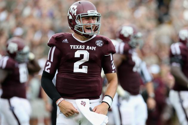 Johnny Manziel: Texas A&M QB's Big Day Proves Aggies Can Compete in the SEC