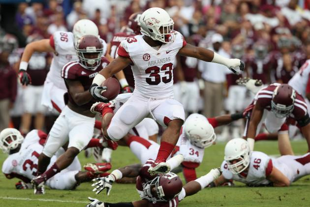 College Football Scores 2012: Arkansas and the Most Devastating Afternoon Losses