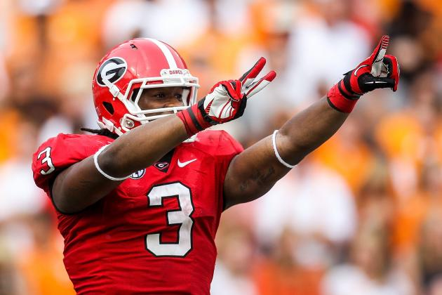Who's Better of Georgia's Star Freshmen RBs: Todd Gurley or Keith Marshall?