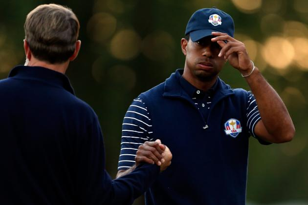 Ryder Cup 2012 Results: Day 2 Points, Standings and Highlights