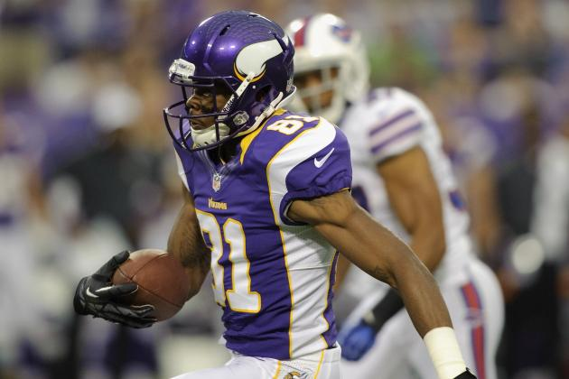 Minnesota Vikings: Limit Expectations for Jerome Simpson in Week 4