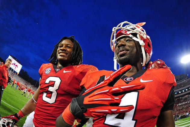 Todd Gurley and Keith Marshall Make Georgia a Legit BCS Title Contender