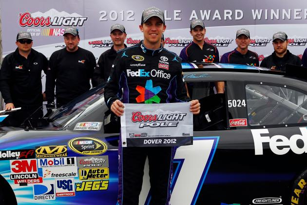 Denny Hamlin Hopes to Put Dover Horrors Behind Him