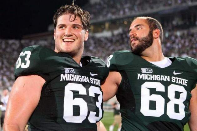 Michigan State Loses Center Travis Jackson to MCL Injury, Broken Leg
