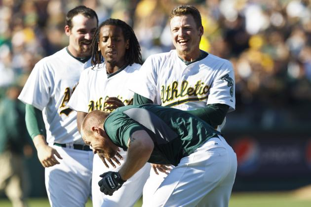 Bob Melvin, Brandon Moss Heroic in Athletics' 10-Inning Victory over Mariners