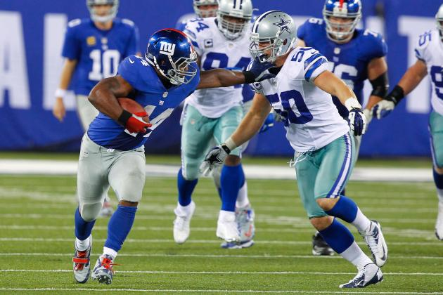 Ahmad Bradshaw: Giants RB's Potential to Wreak Havoc Makes Him a Must-Start