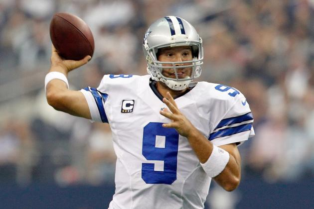 Tony Romo Ends Mid-Season Contract Negotiations with Dallas Cowboys