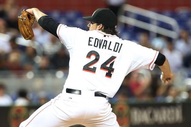 Miami Marlins Pitcher Nathan Eovaldi Gets His Last Start for 2012