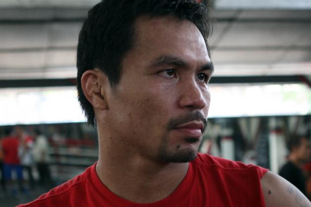 Why Manny Pacquiao Should Be Fighting Sergio Martinez, Not Juan Manuel Marquez