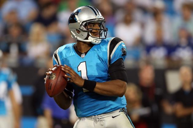 Cam Newton: Projections for Panthers QB in Week 4 Matchup vs. Falcons