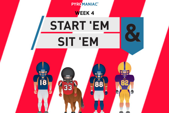 Fantasy Football 2012: Start 'em, Sit 'em for Week 4