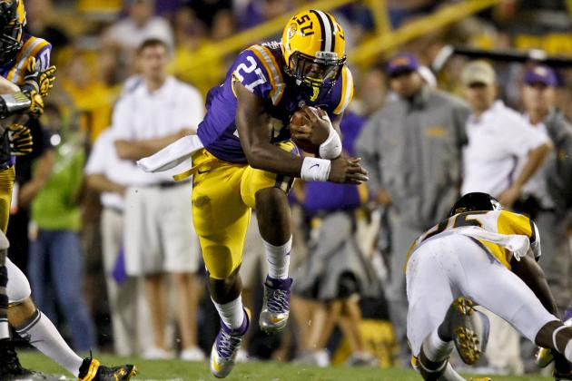 LSU's Five Fumbles Not Lost on Miles
