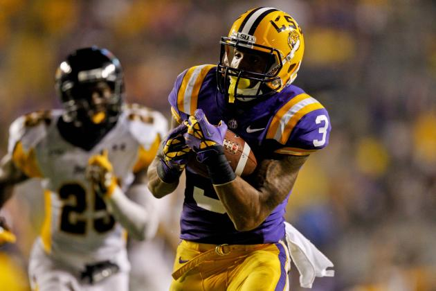 Beckham Jr. Comes Up Big in the Passing Game, Helps LSU Survive a Scare