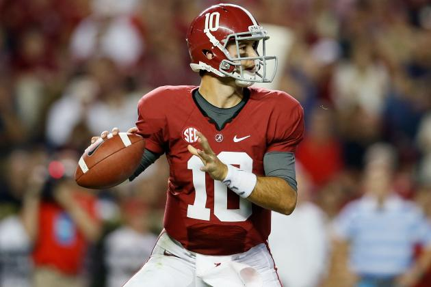 USA Today College Football Poll 2012: Complete Week 6 Rankings