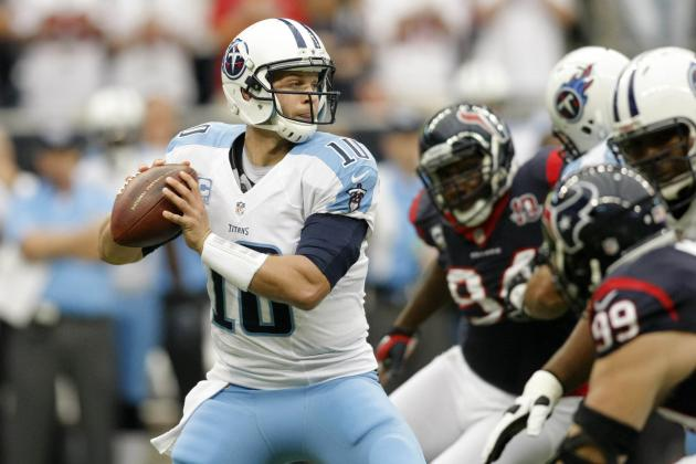 Jake Locker Injury: Updates on Titans QB's Left Shoulder