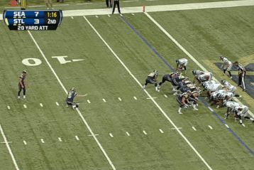 St. Louis Rams: Danny Amendola Scores on a Fake Field Goal