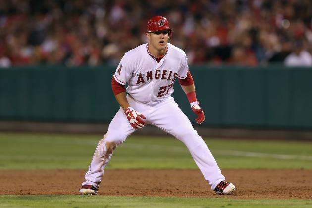 Mike Trout Becomes MLB's Youngest Player to Hit 30th HR, Record 30 SB