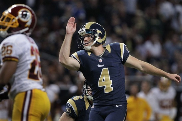 Greg Zuerlein: Rams Kicker in Position to End Year Atop Fantasy Rankings