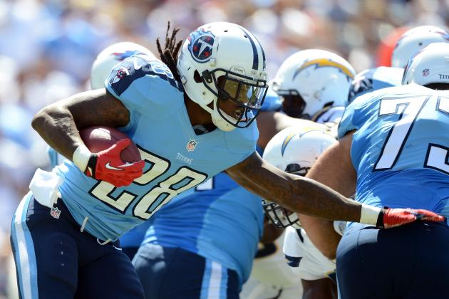 Buying or Selling Titans RB Chris Johnson's First Breakout Game of 2012
