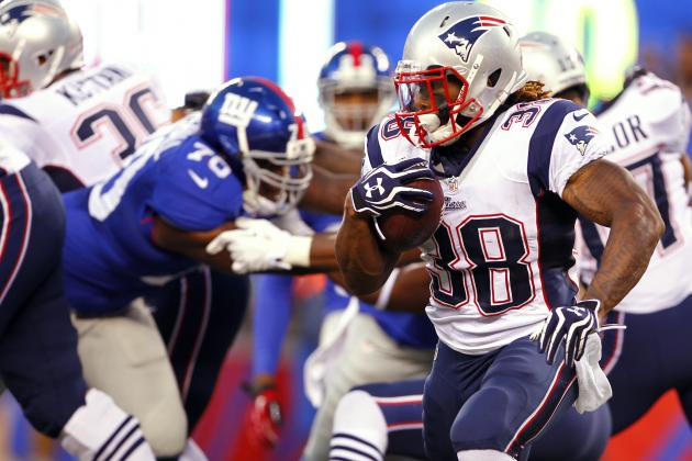 Brandon Bolden: Patriots RB Is Perfect Waiver-Wire Option for Owners in Need