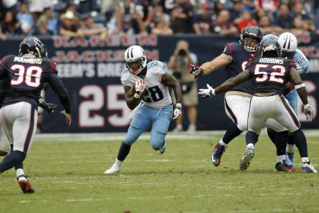 Chris Johnson Shows Signs of Resurgence in Titans' 38-14 Loss to Texans