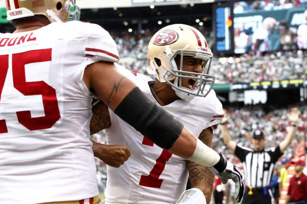 What Can Jets, Tim Tebow Learn from Colin Kaepernick & 49ers' Option Package?