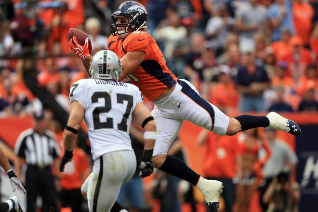 Oakland Raiders vs. Denver Broncos: NFL Week 4 Live Score, Video and Analysis
