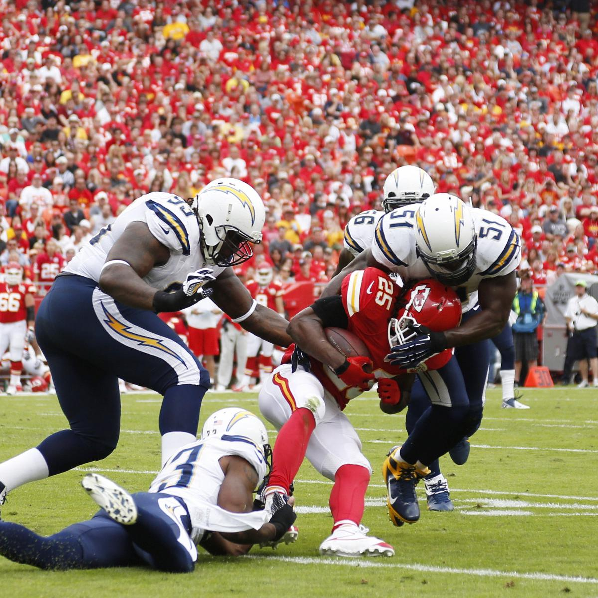 San Diego Chargers Chiefs: Kansas City Chiefs Vs. San Diego Chargers: 10 Things We