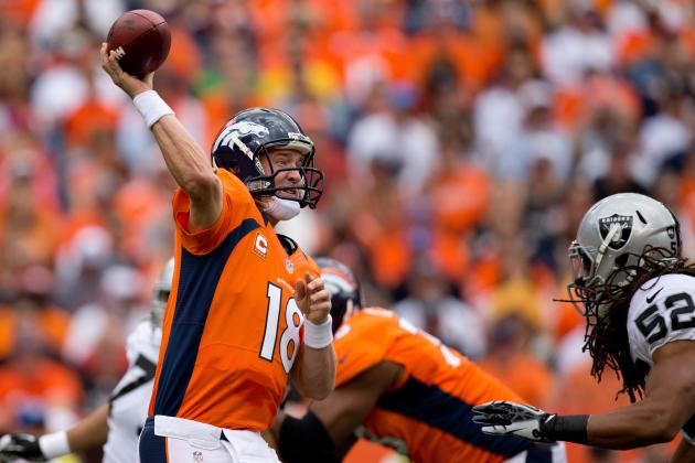 Peyton Manning: Denver QB's Explosion vs. Raiders Bodes Well for Playoff Hopes
