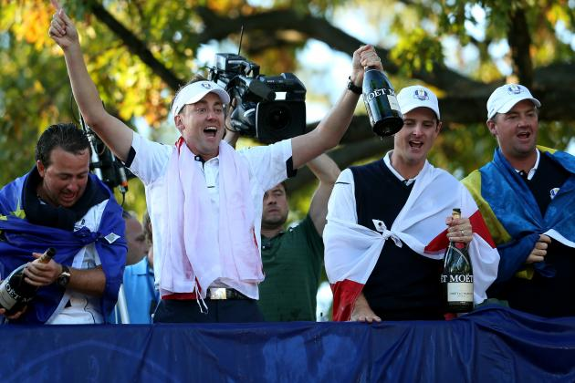 Jose Maria Olazabal's Team Stuns US in Ryder Cup