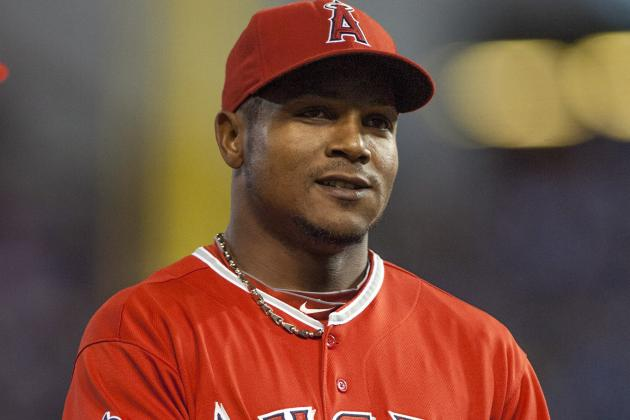 Erick Aybar Leaves Game vs. Rangers with Injury