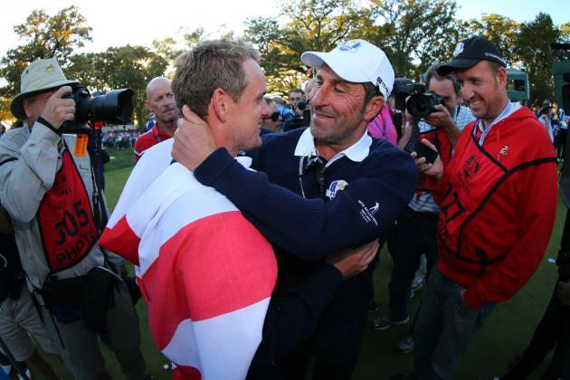 2012 Ryder Cup Closing Ceremony: U.S. Collapse Is Testament to European Talent
