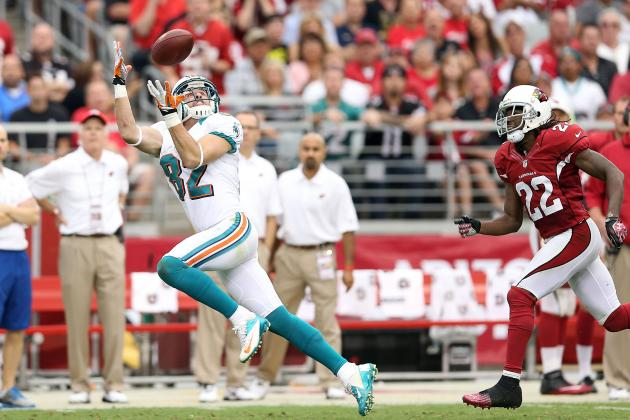 Brian Hartline: Dolphins WR Gaining Fantasy Value as QB Ryan Tannehill Matures