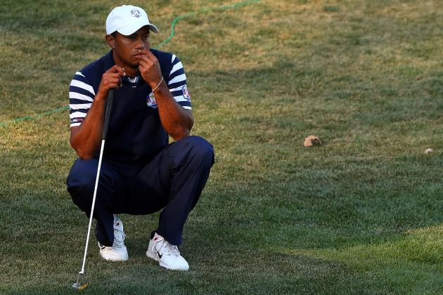Ryder Cup 2012 Scores: Biggest Disappointments from U.S. Team in Stunning Loss