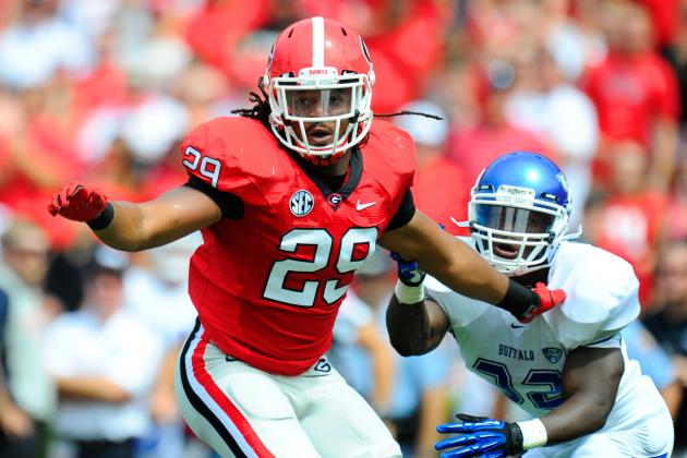 Jarvis Jones New No. 1 on October Big Board for 2013 NFL Draft
