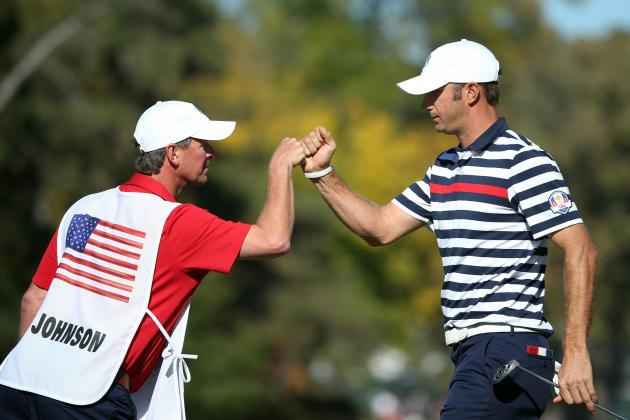 2012 USA Ryder Cup Team: Highlighting Best Performances from Sunday
