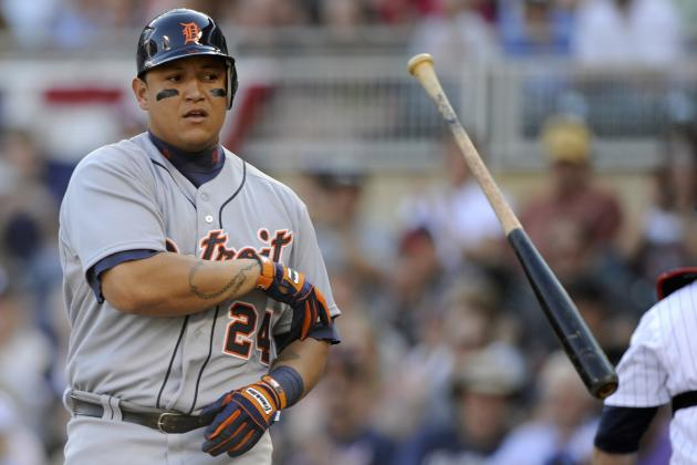 Miguel Cabrera: Breaking Down Updated Triple Crown Hopes After Hitless Day
