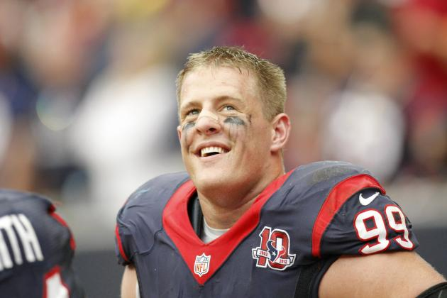 J.J. Watt Is Best Defensive Player in NFL, but Is Anyone Else Even Close?