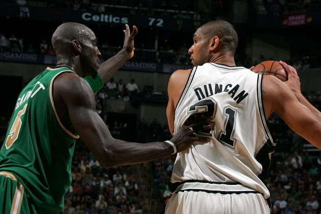 Why ESPN Should Have Ranked Tim Duncan Ahead of Kevin Garnett