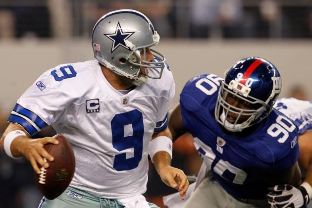 Tony Romo vs. Jay Cutler: Who Will Get Sacked More During Their MNF Matchup?