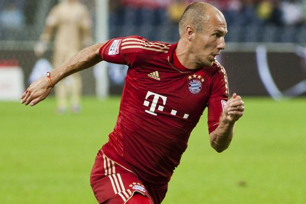 FCB Set off for Borisov Without Robben