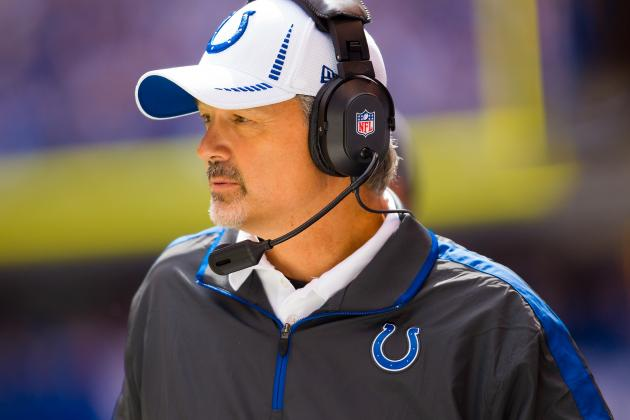 Chuck Pagano Reportedly Diagnosed with Leukemia, Bruce Arians to Coach Colts