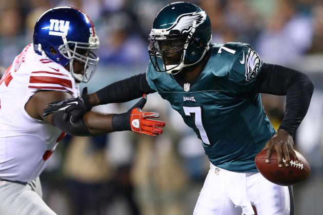 Michael Vick Injury: Updates on Eagles QB's Week 5 Status and Fantasy Value