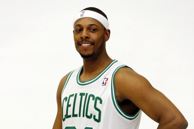 Pierce Says Knee Is '100 Percent Now'